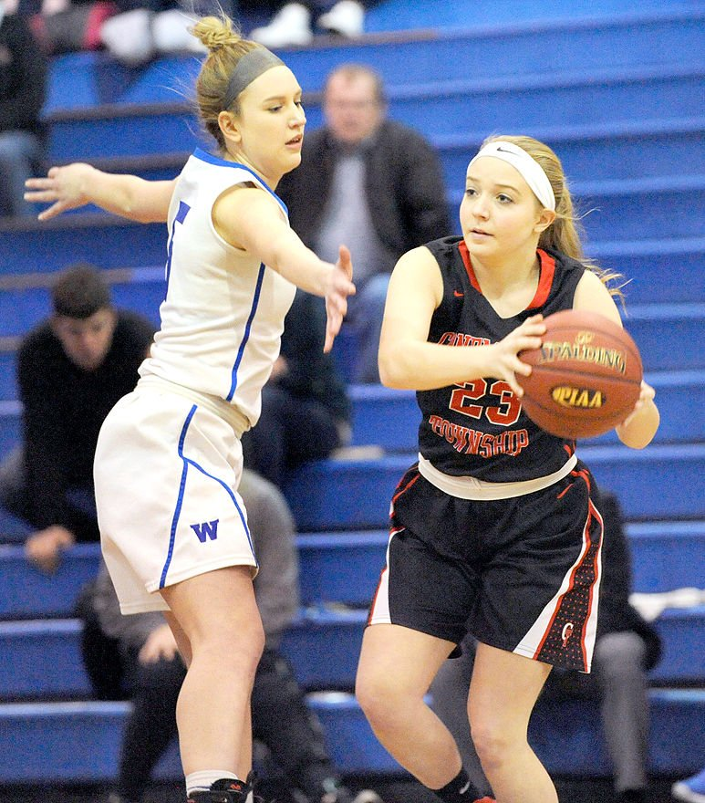 windber girls The windber girls basketball captured the district 5 class aa championship friday beating tussey mountain 45-35.