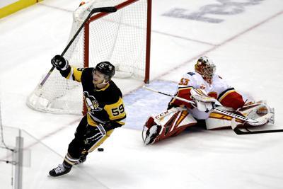 Flames Penguins Hockey