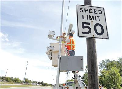 Bill takes aim at work-zone speed: Use of cameras causes