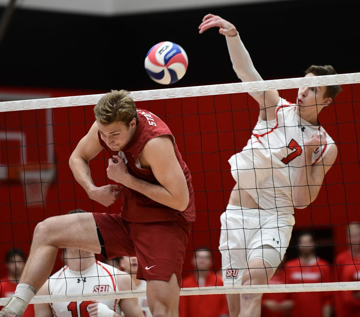 Video Photo Gallery St Francis Stuns No 7 Stanford In Volleyball Opener Sports Tribdem Com