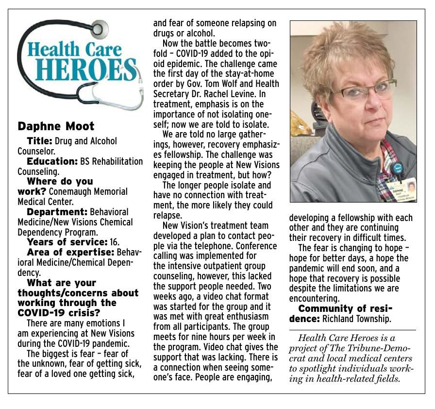 Health Care Heroes | Daphne Moot