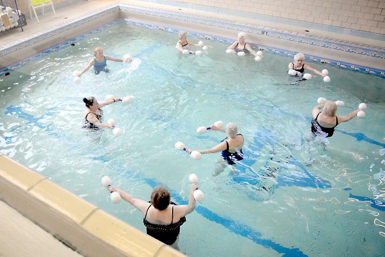 Health Matters YWCA aquatics class