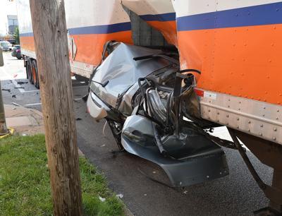 SUV-tractor-trailer crash kills 3 in Erie | News | tribdem com