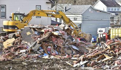 Prospect house demolition