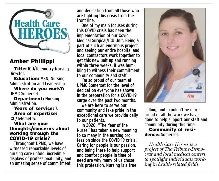 Health Care Heroes | Amber Phillippi