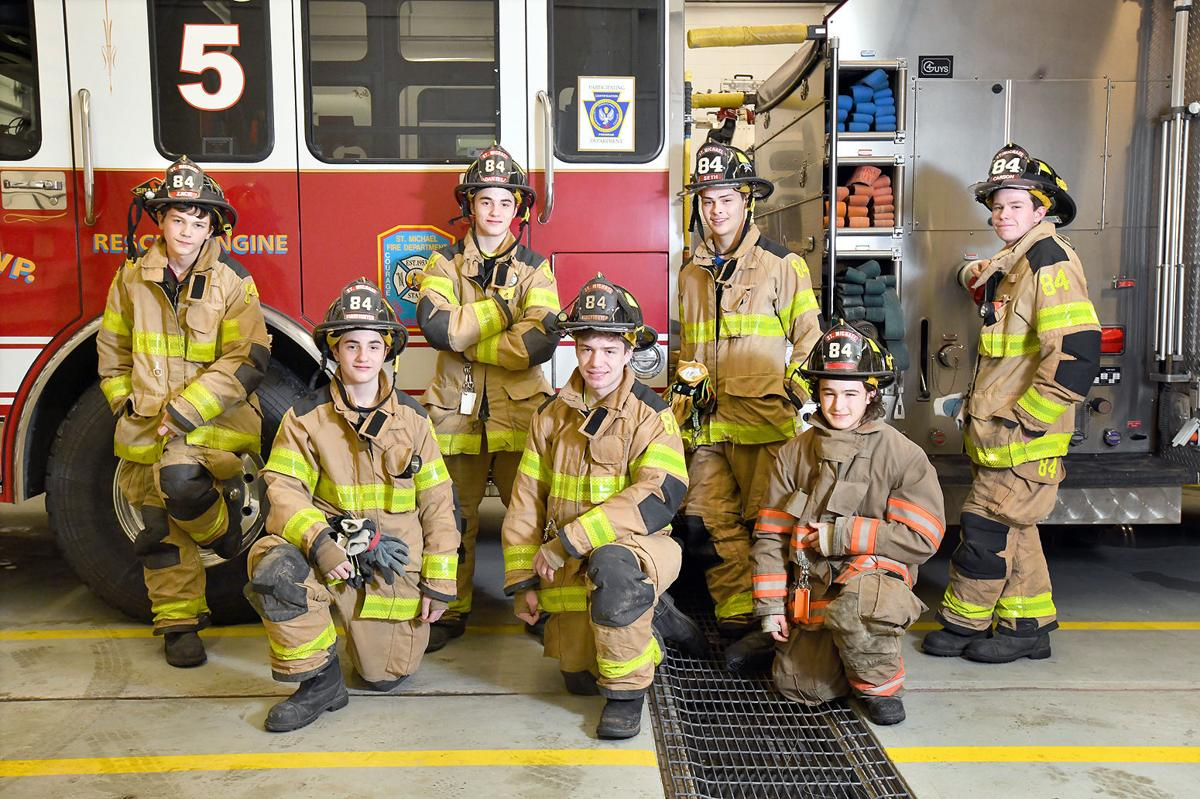 Front Lines | Junior firefighters find fun in 'serious business'