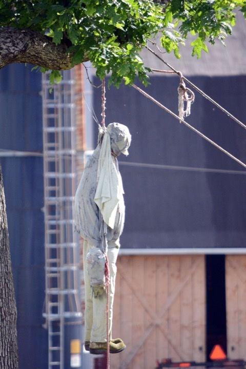 Grantsville hanging figure