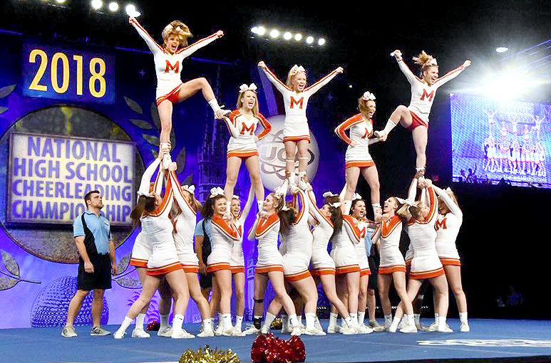 McCort cheerleading 2018