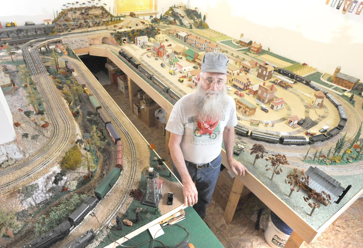 Charles Sturtz model railroad