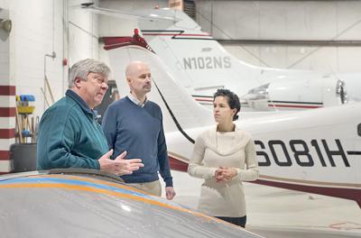 Airport aviation school Melissa Pensiero