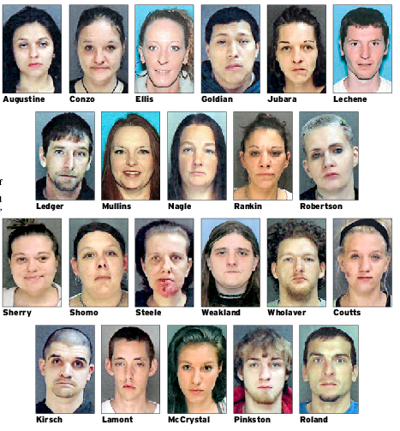 Cambria County drug sweep brings arrest warrants for 22