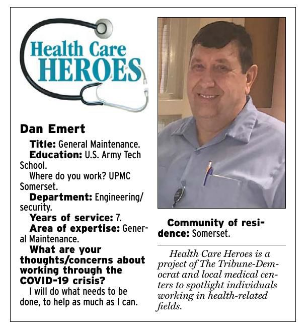 Health Care Heroes | Dan Emert