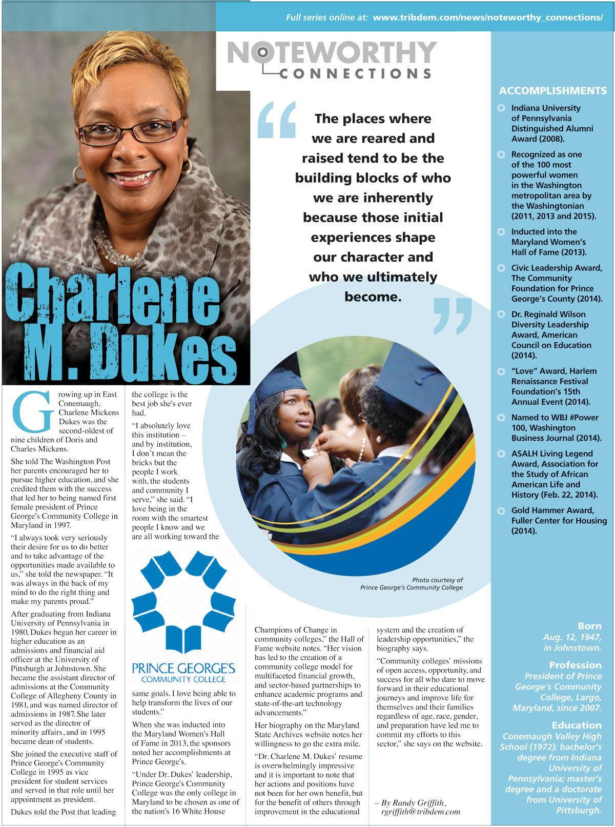 Charlene mickens dukes