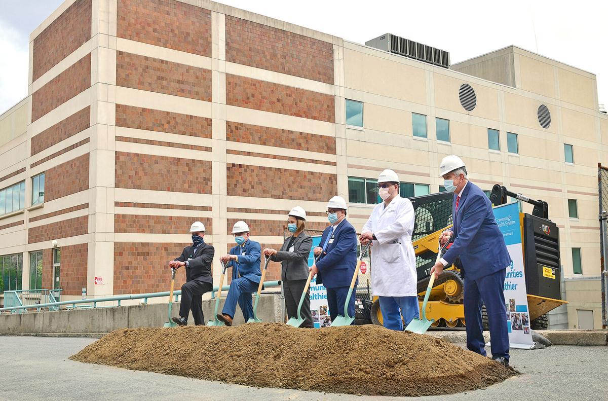 "Conemaugh Memorial Medical Center ""D"" Building Groundbreaking"