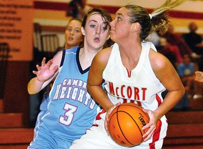 Bishop McCort vs. Cambria Heights Girls' Basketball