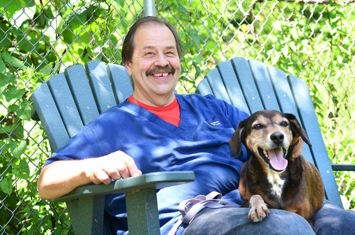 David Pundzak, animal caretaker
