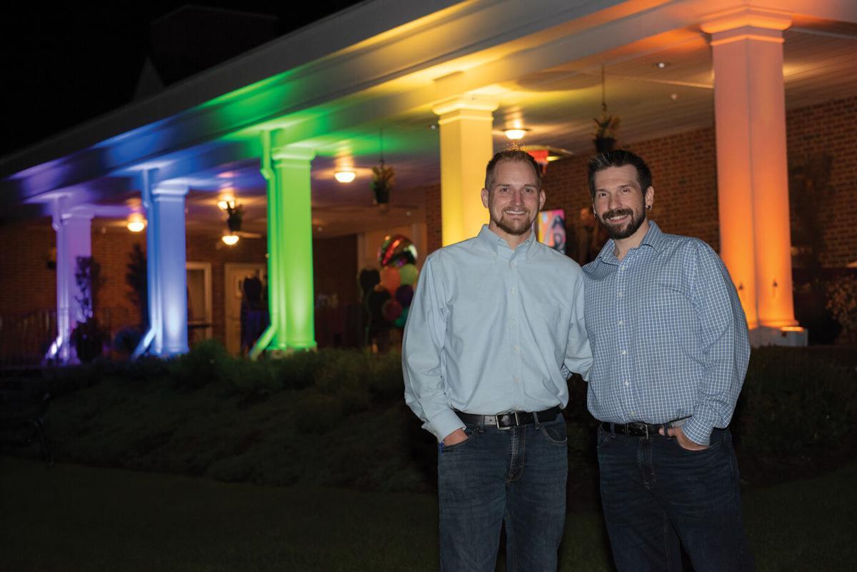 Dustin Greene and Ken Locher