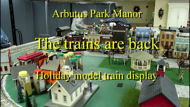 The trains are back