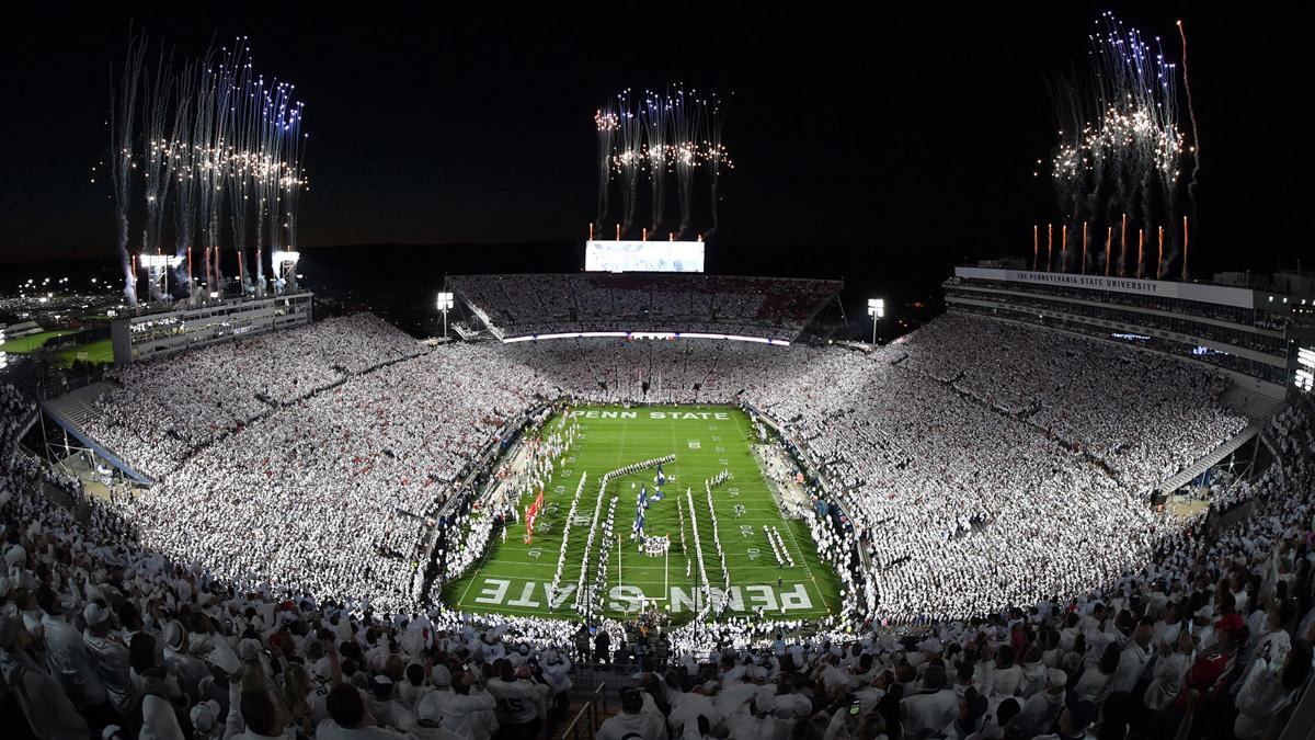 Penn State's fall sports top nation in attendance
