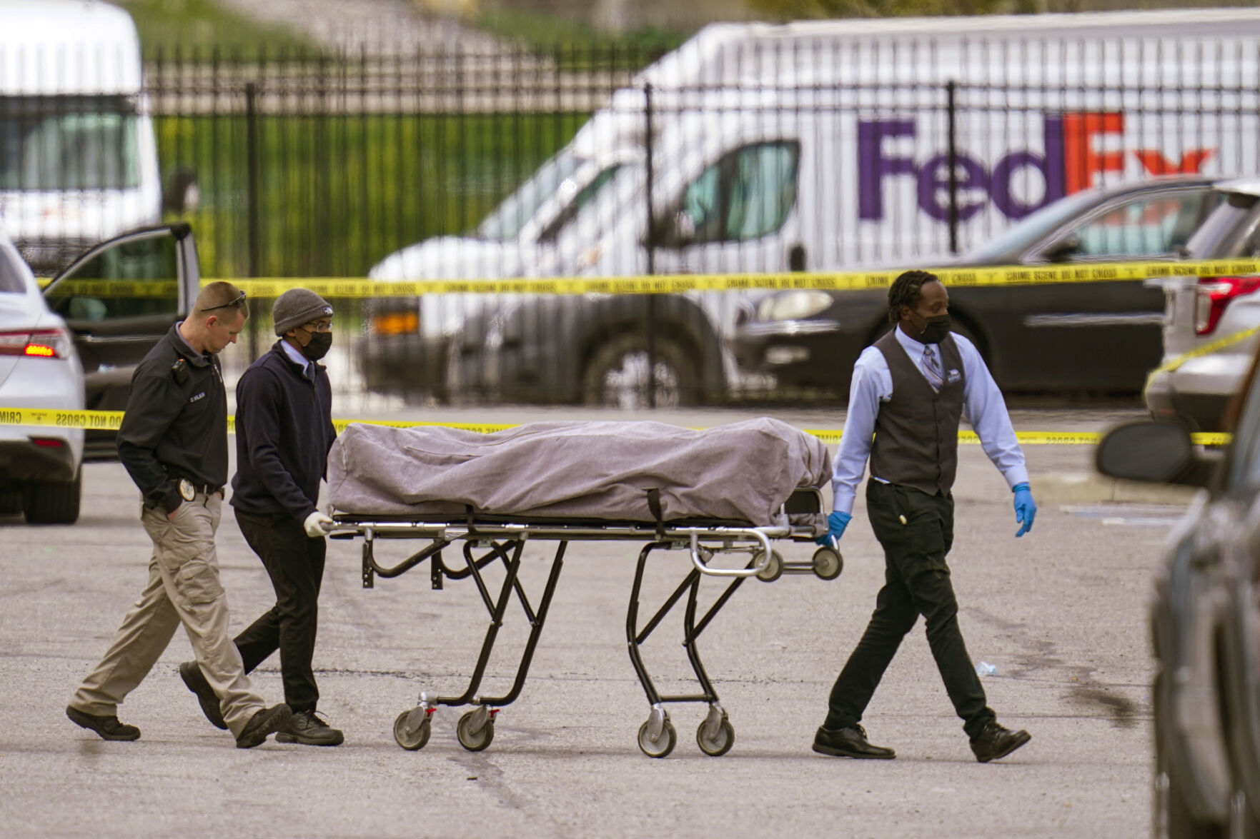 LATEST: Police ID killer in FedEx shooting as 19-year-old man, former employee