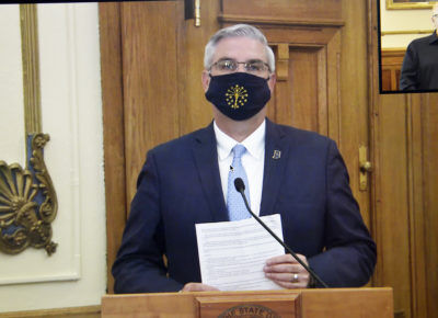 Indiana will require masks in public