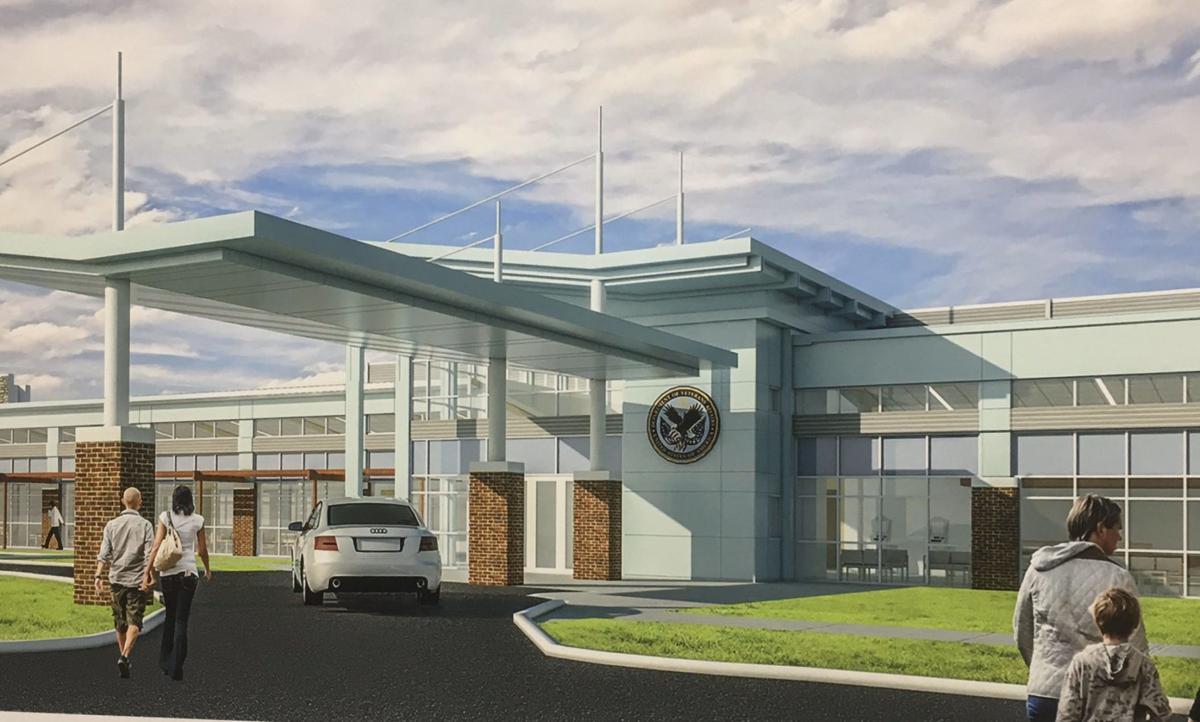 VA health center rendering