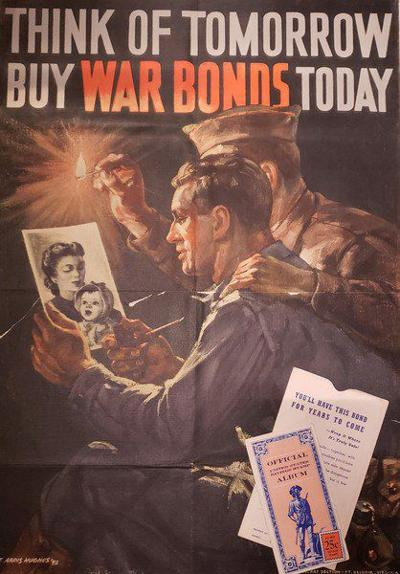 Financing WWII with war bonds