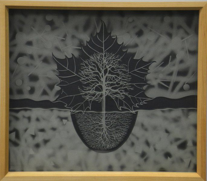 RCAA's artist of the month features glass etchings