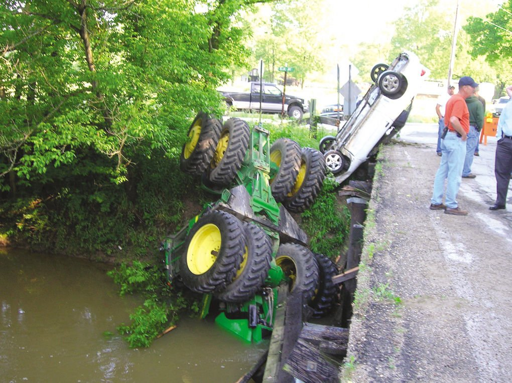Farm Tractor Pto Accidents : Terre haute man arrested after stealing tractor to drag