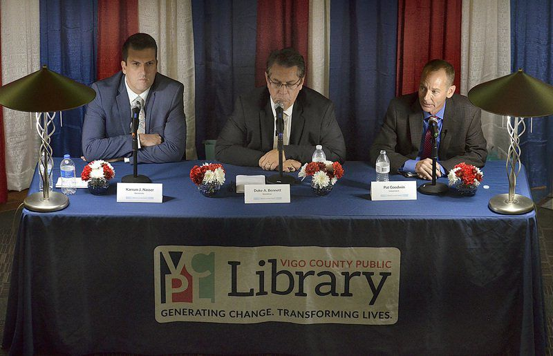 Three mayoral candidates make their cases