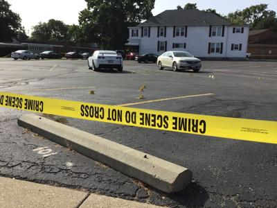 Parking lot evidence markers