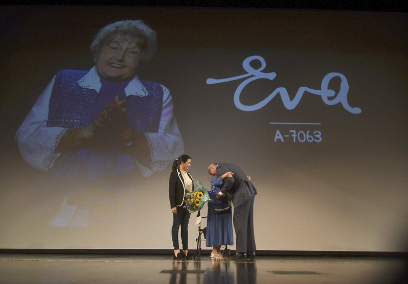'Eva' movie delves into Holocaust survivor's journey from personal pain and anguish to forgiveness