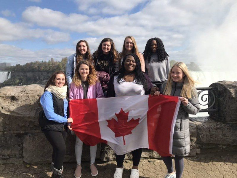 Woods students experience a trip beyond service
