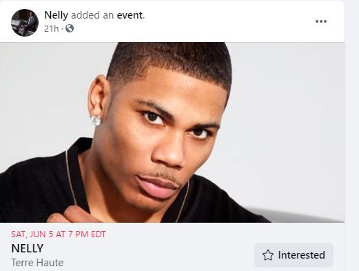 Nelly Facebook post