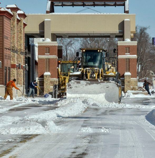 We got walloped! But others in Indiana caught even more snow