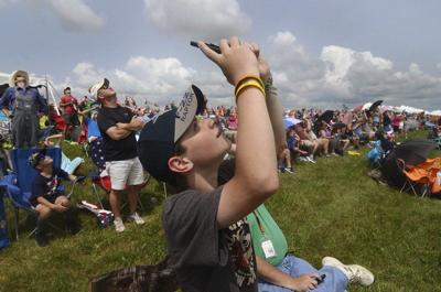 Terre Haute Air Show attracts 55,000; tickets for outdoor event non-refundable