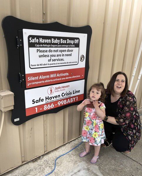 A Safe Haven: Sugar Creek fire station activates baby box