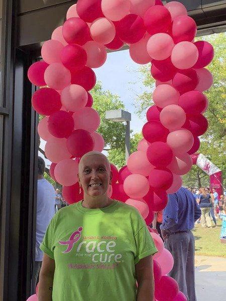 Breast cancer survivor says positive attitude is key