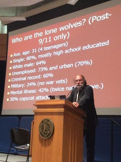 Terrorism expert discusses 'lone wolves'