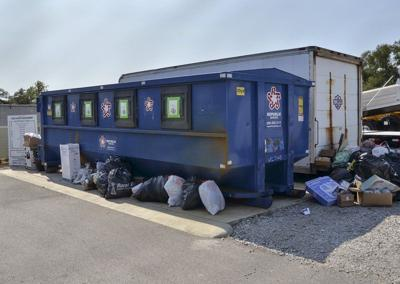 Republic Services cuts back on recyclables pickup