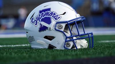 ISU football helmet