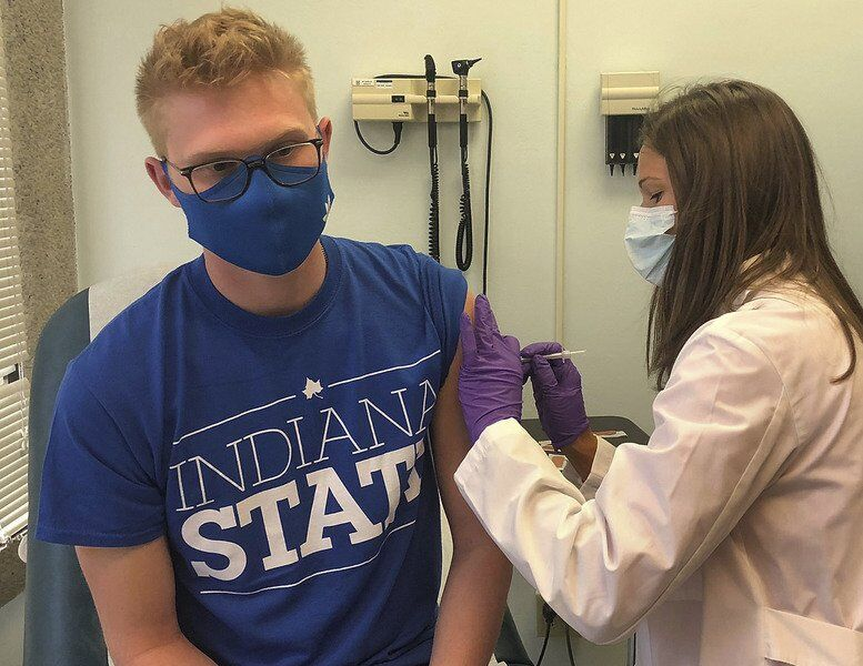 A shot in the arm: ISU begins on-campus vaccinations