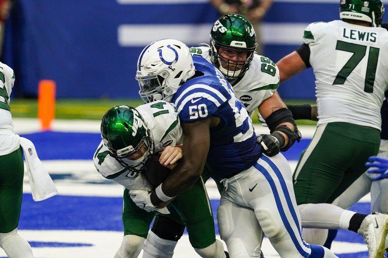 Defense, Rivers hit impressive milestones as Colts rout Jets