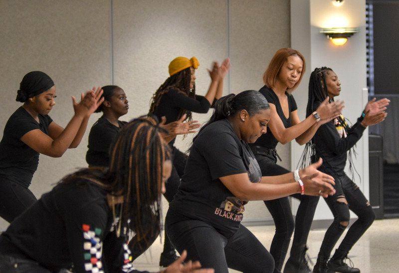Black History Month speaker challenges students