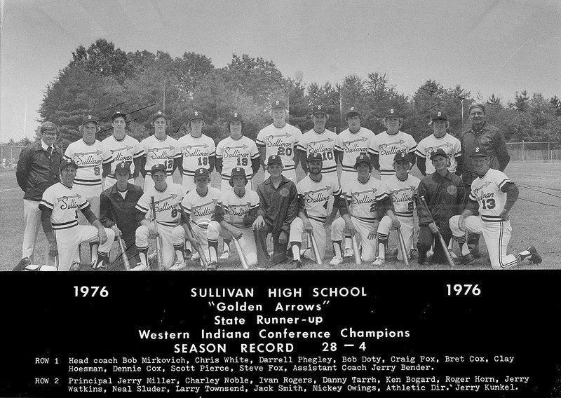 "HS of the WEEK: Golden Arrows ""within one run"" in 1976 baseball final"
