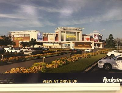 Casino front view rendering