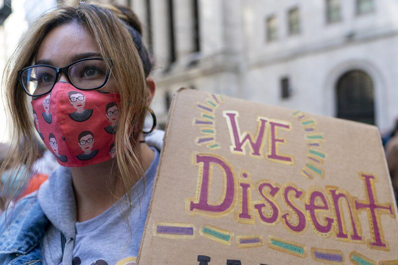 Organizers exhort women to vote for change at U.S. rallies