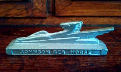 Historical Treasure: Trinket recalls story of Johnson outboards in