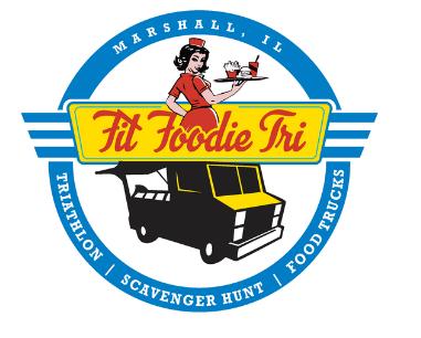 June 5 Fit Foodie Tri at Marshall, Illinois