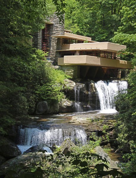 The Off Season: Fallingwater and 'the music of the stream'